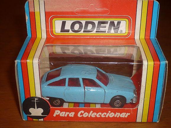 CITROEN GS DE LODEN (lleva las ruedas que guisval uso en exclusiva en el año 1.976).