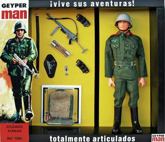 GEYPERMAN SOLDADO ALEMAN DE HOBBYCRASH (REEDICION GEYPERMAN).