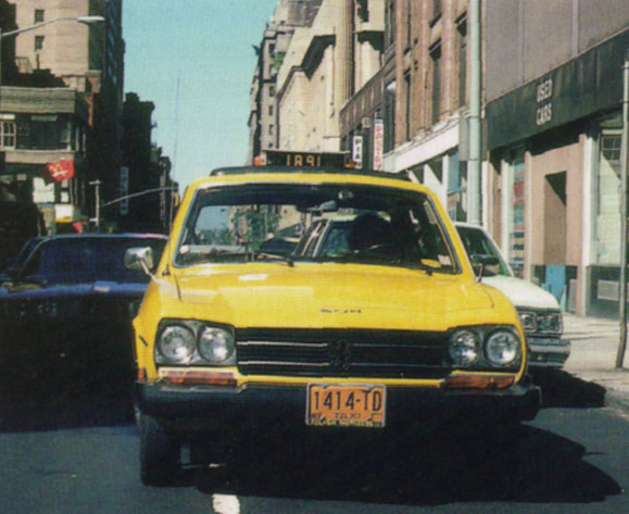 PEUGEOT 504 TAXI DE NUEVA YORK
