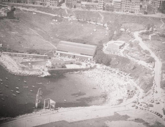CLUB DEL MAR Y PLAYA DE SAN AMARO,AÑOS 80.