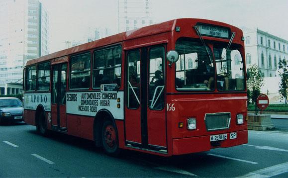 PEGASO 6.025 EX-EMT DE MADRID DE 1.974,EL 166.