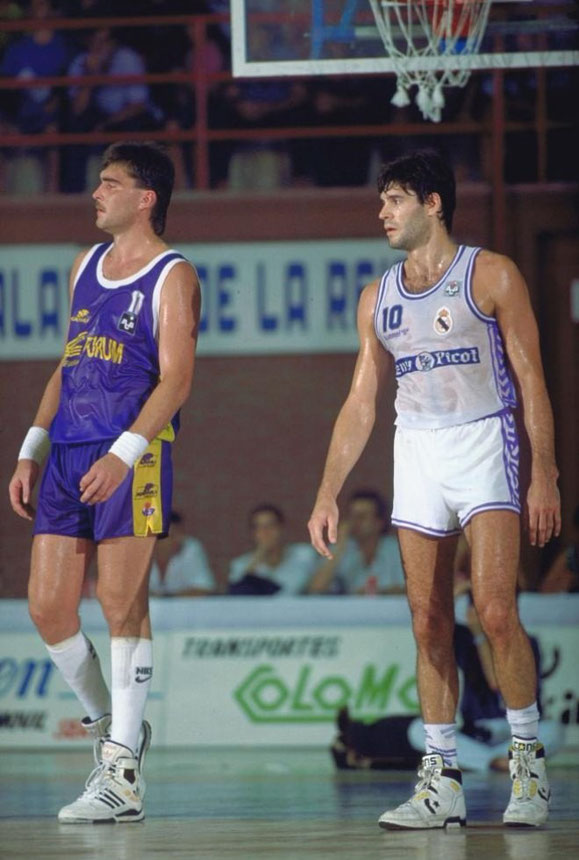 ARVYDAS SABONIS (FORUM VALLADOLID Y REAL MADRID)