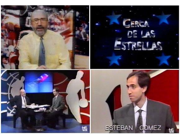 RAMON TRECET Y ESTEBAN GOMEZ EN EL MITICO PROGRAMA DE TVE2 CERCA DE LAS ESTRELLAS,