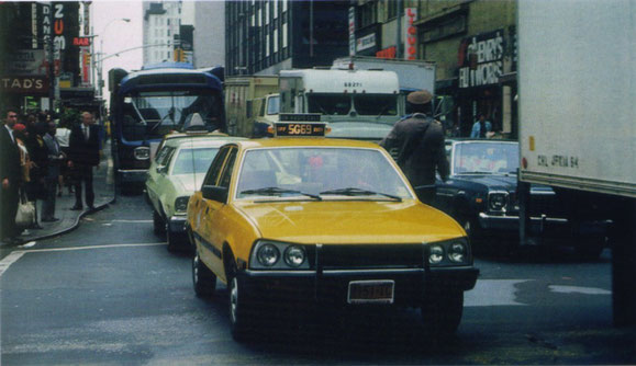 PEUGEOT 505 TAXI DE NUEVA YORK