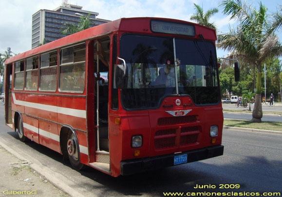 ENVIADO A CUBA DONDE FUE REPINTADO.