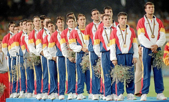 ESPAÑA,CAMPEONA OLIMPICA EN JJOO BARCELONA 92