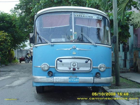SETRA SEIDA DE AUTO INDUSTRIAL ENVIADO A CUBA.