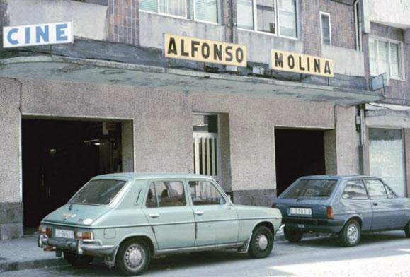 CINE ALFONSO MOLINA (CALLE ANGEL SENRA).