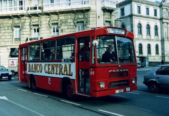 AUTOBUS PEGASO CASTRO CARIDE DE 1.972.EL 189.