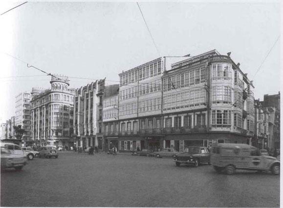 PLAZA DE PONTEVEDRA,AÑOS 60.