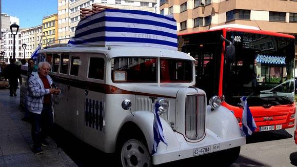 ANTIGUO AUTOBUS DE VAZQUEZ PARA LAS GRANDES OCASIONES