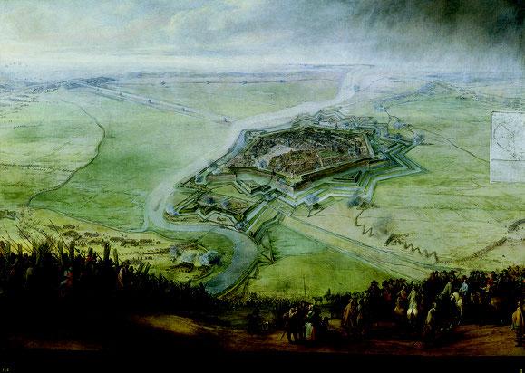 Pieter Snayers - Le siège de Gravelines (musée du Prado)