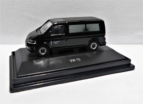 Schuco, Modellauto, H0, Volkswagen, T5, Camper, California, Transporter, Bus, Bestattungen