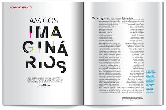 """Sección """"Comportamento"""" de la revista Superinteressante"""