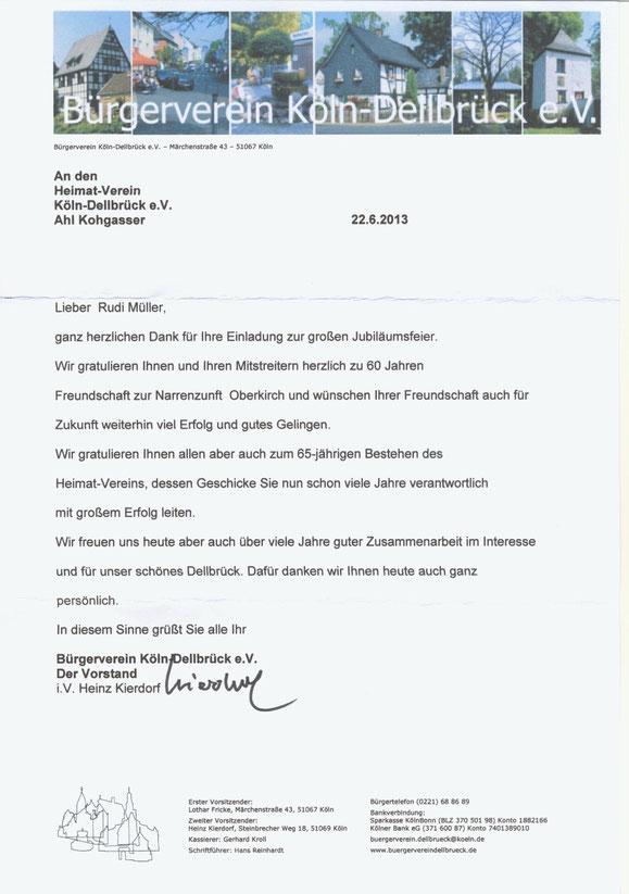 Bürgerverein Köln-Dellbrück e. V.