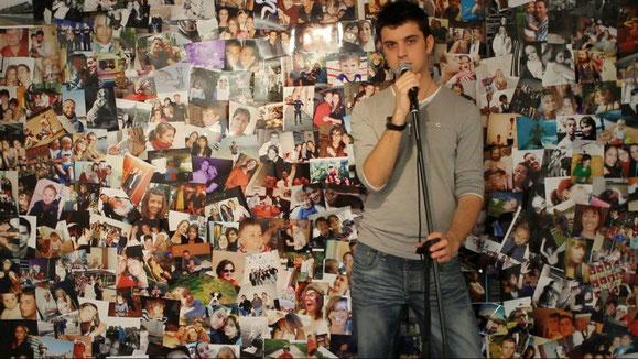 Le fameux mur recouvert de plus de 250 photos !