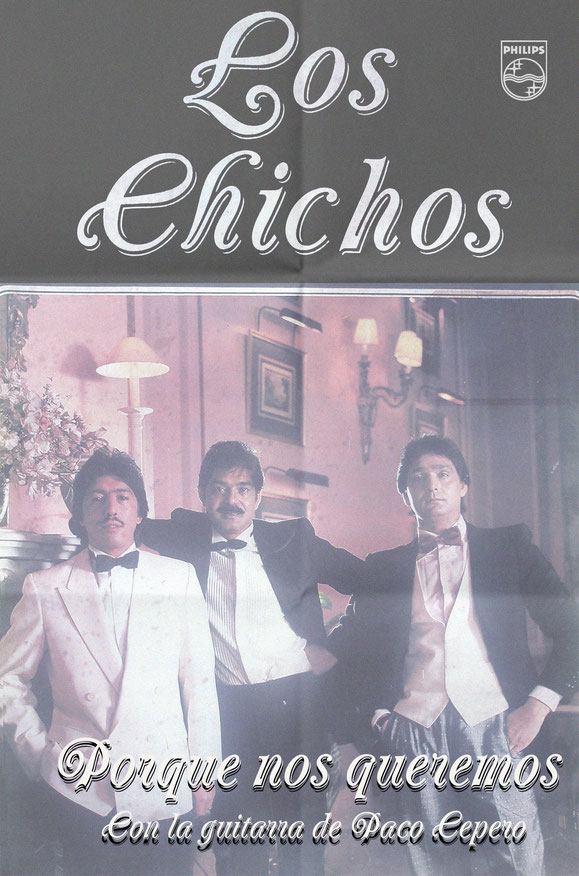LOS CHICHOS PORQUE NOS QUEREMOS   PÓSTER  - 1988