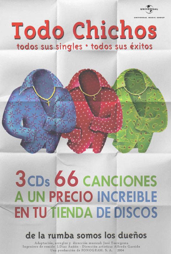 LOS CHICHOS TODO CHICHOS TODO CHICHOS TODO CHICHOS SUS  SINGLES