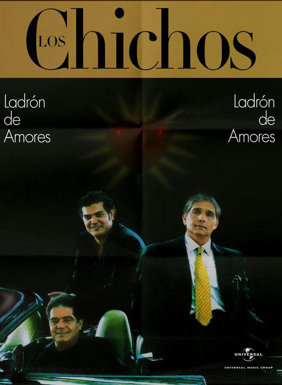 YA ESTÁ A LA VENTA LO NUEVO DE LOS CHICHOS   LADRÓN DE AMORES  2001