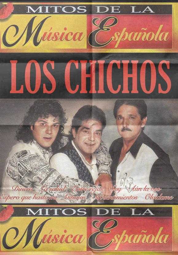 LOS CHICHOS LA COPLA ESPAÑOLA POSTER