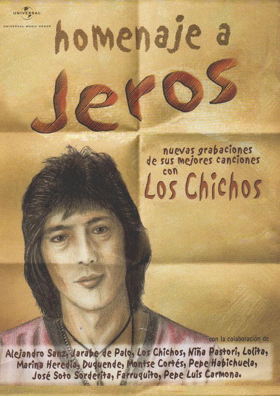 A LA VENTA EL NUEVO HOMENAJE DE JEROS DISPONIBLE EN  CD. Y MUSICASSETTES  PÓSTERS