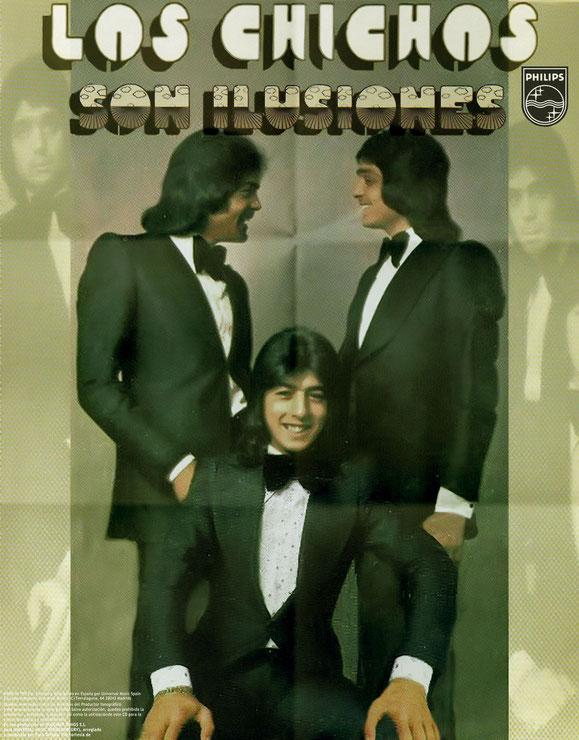 SON ILUSIONES  LOS CHCHOS PROMOCION POSTERS 1977