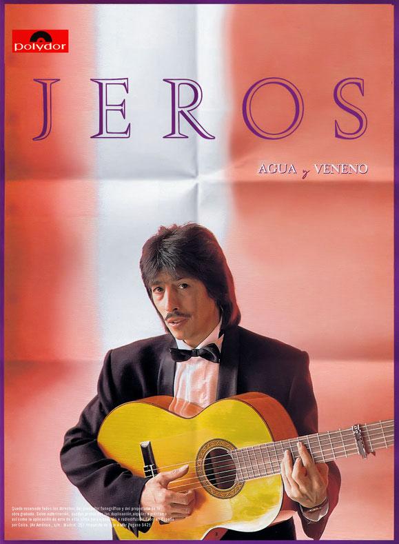 A LA VENTA EL NUEVO LP DE JEROS DISPONIBLE EN  CD. DISCOS Y MUSICASSETTES  PÓSTERS