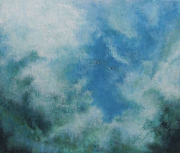 65 x 54 cm - al óleo sobre lienzo.