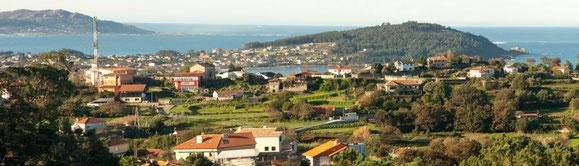 Vista dende o Castro de Estea