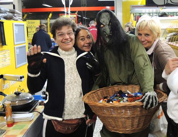 Halloween im Futterhaus