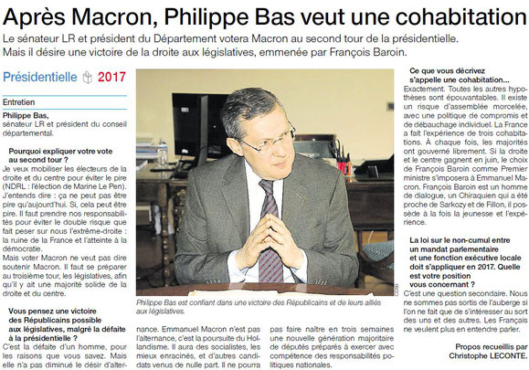 Ouest-France, 29/04/2017