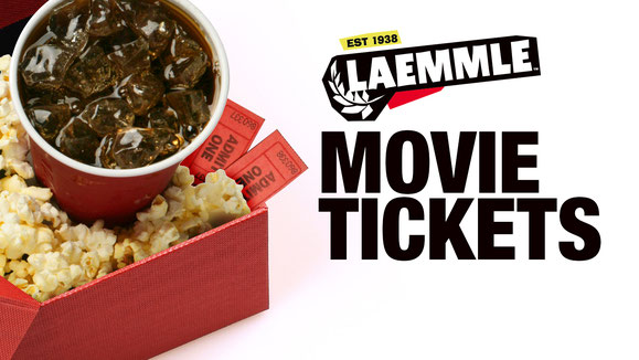 ITEM #20: 4 X LAEMMLE PASADENA TICKETS (VALUE $80)