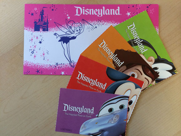 ITEM #2: DISNEYLAND/CALIFORNIA ADVENTURE HOPPER TICKETS FOR 4!  (VALUE $690)