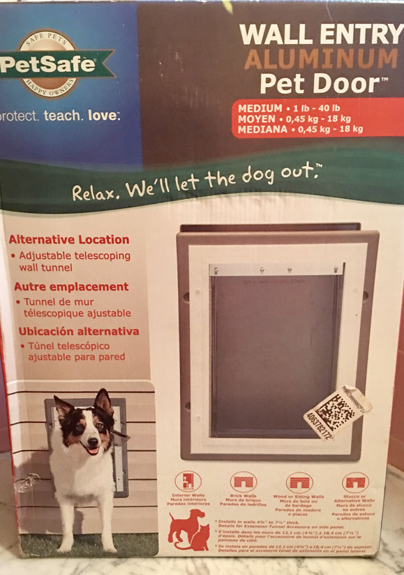 27: Pet Safe Medium Size Dog Door $60 value
