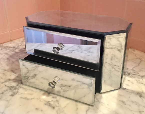 21: mirror jewelry box $35 value