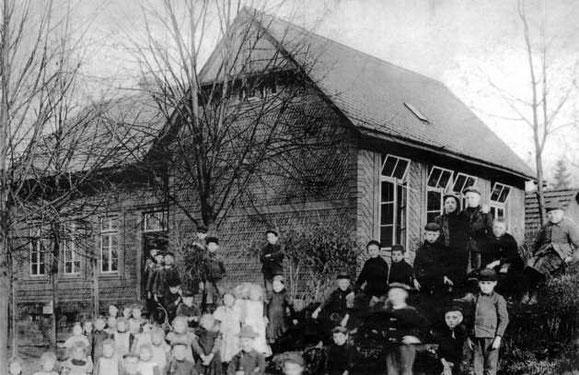 Volksschule Gaderoth um 1894