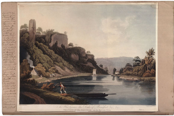 Pückler, Erinnerungsbilder, Bd. IV, River Wye