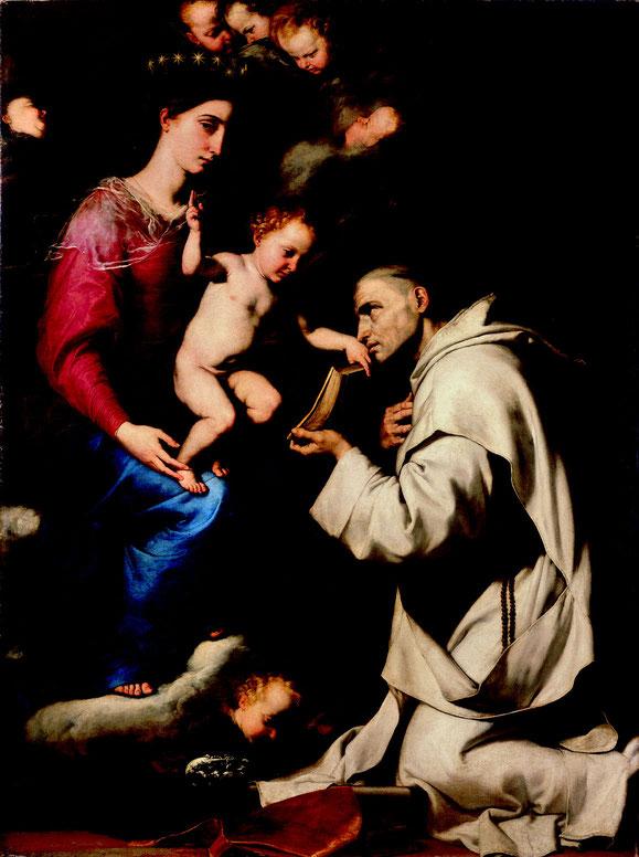 José de Ribera, Madonna mit dem hl. Bruno, 1624, Berlin, Gemäldegalerie, Foto: Volker-H. Schneider