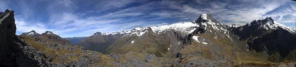 Gillespie Pass, Mt Aspiring NP