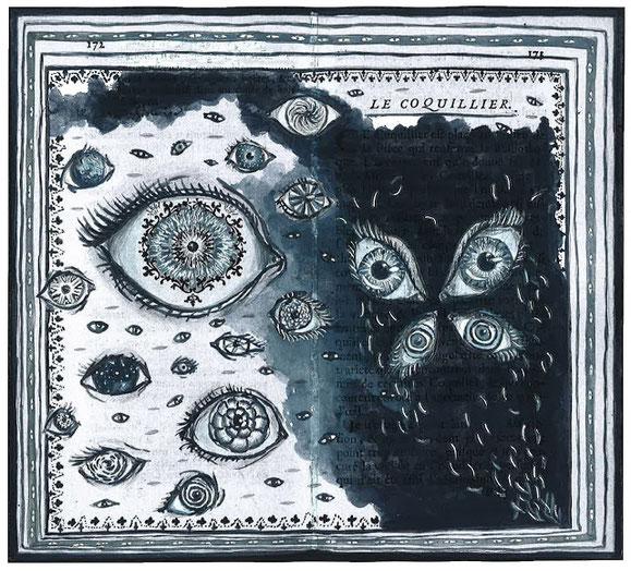 Illustration d'Alexandre Léger : le coquillier