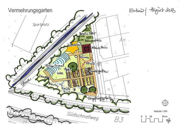 Entwurf von Architekt Andreas Ackermann.