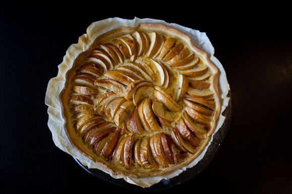 Bild zum Rezept für Steamer und Dampfgarer: Apfel-Wähe.