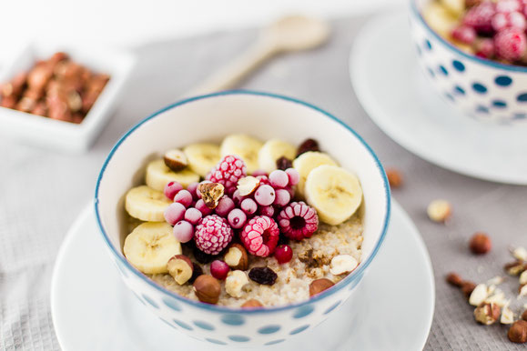 Porridge aus dem Dampfgarer.