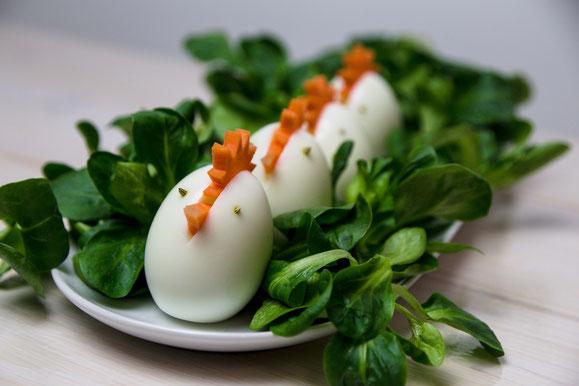 Rezept für Steamer und Dampfgarer: Oster-Eier.