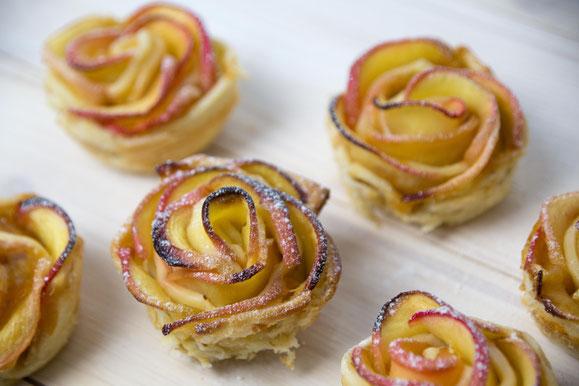 Steamhaus - Rezept für Kombi-Steamer und Dampfgarer: Apfel-Rosen.