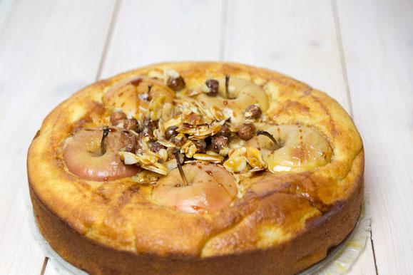 Apfel-Zimt-Kuchen aus dem Dampfgarer