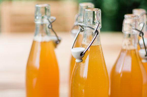 Apfelsaft und -Most aus dem Dampfgarer.