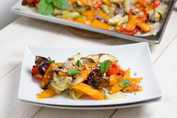 Steamer Rezept: gerösteter Fenchel-Salat.