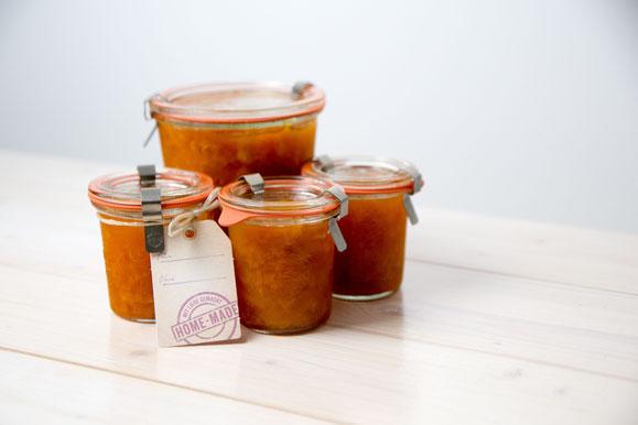 Bild zum Rezept für Steamer und Dampfgarer: Aprikosen-Konfitüre.