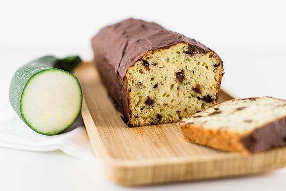 Zucchini Schoko-Kuchen aus dem Dampfgarer.